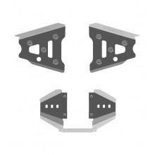 Защита передних рычагов + заднего редуктора для Can-Am (BRP) Outlander 500/650/800 (Рама G1)