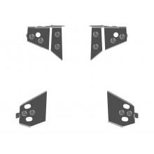 Защита рычагов 4 мм -2014 для Yamaha Grizzly  550/700